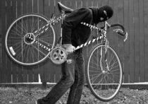 В Туле прохожий украл с витрины магазина велосипед