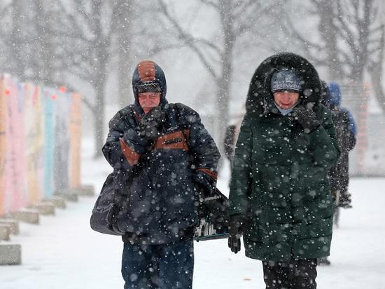 Россиянам пообещали 30-градусные морозы в апреле