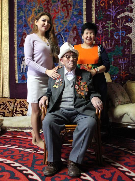 В Кыргызстане ветерану ВОВ исполнилось 100 лет