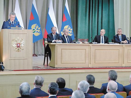 """На коллегии Генпрокуратуры Чайка попросил избегать """"ошибок при решении судеб"""""""