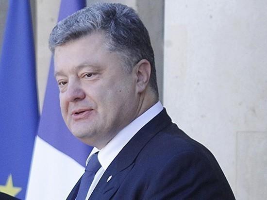 Порошенко заявил, что Россия виновата в торможении киевского метро