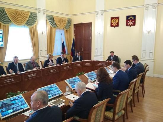 Заседание правительства Мурманской области проходит без Марины Ковтун