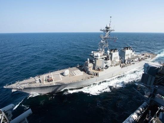 США назвали действия китайских военных кораблей «непрофессиональными»