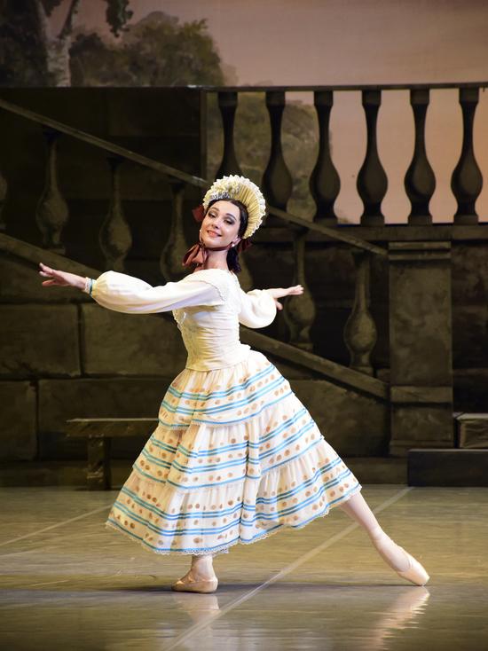 Краснодарский театр балета показал спектакль
