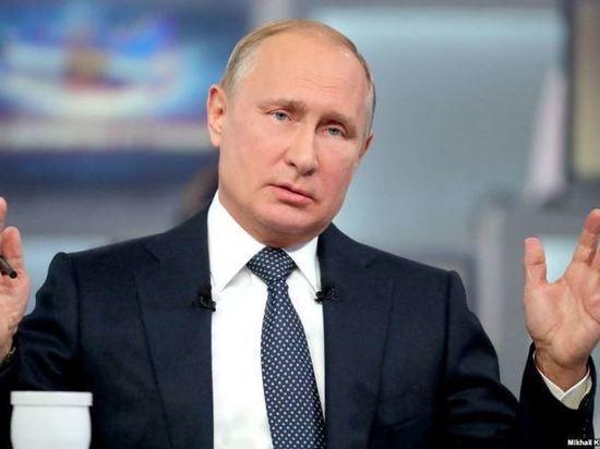 Путин рассказал, чем недовольны жители Крыма