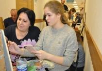 Пациенты Рязанской областной клинической больницы научились рисовать акварелью