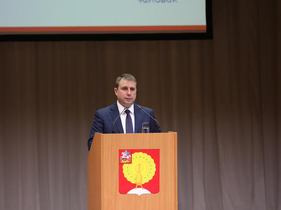 Глава Серпухова Дмитрий Жариков представил ежегодный отчет об итогах работы