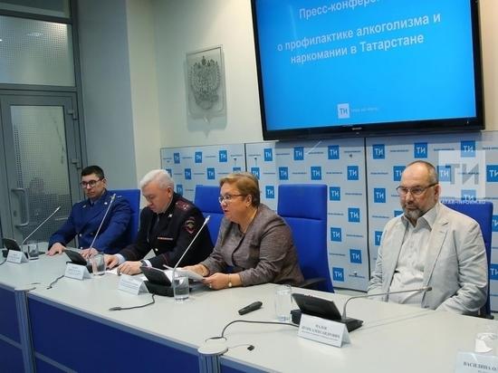 В Татарстане сократилось число больных алкоголизмом и наркоманией