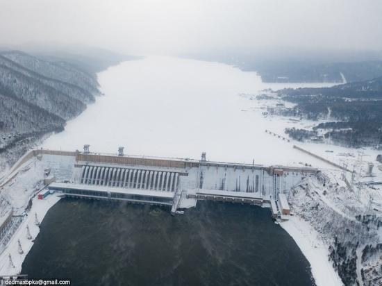 Неизвестные сообщили о бомбе на Красноярской ГЭС
