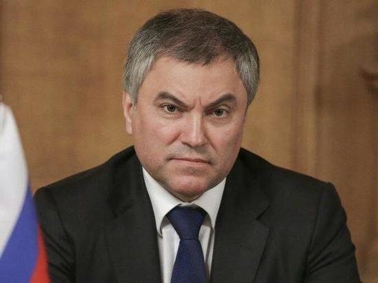Госдума объяснила введении Киевом санкций против Володина