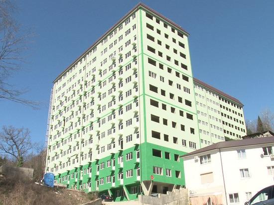 В Сочи снесут 14-этажный жилой дом «Грин-Хоста»