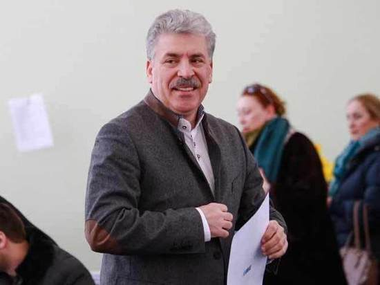 ЦИК отказался выдавать Грудинину мандат депутата Госдумы