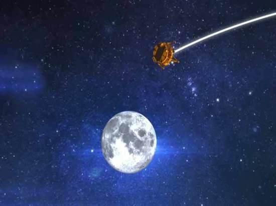 Израильский луноход вышел на путь сближения с Луной