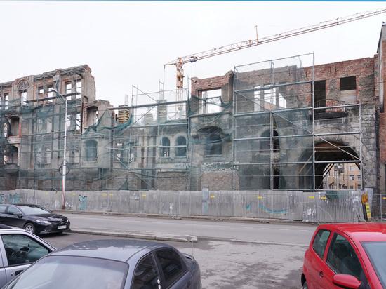 В Калининграде здание «Кройц-аптеки» разрешили восстановить