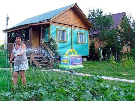 Минтруд разрешил тратить маткапитал на строительство садового домика