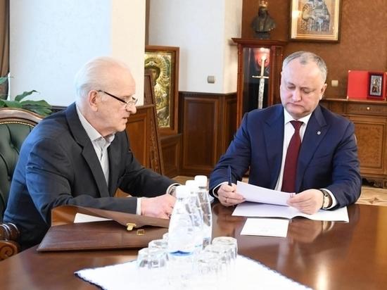 Игорь Додон: «Мы сторонники взвешенной внешней политики»