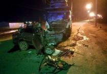 В Астраханской области на трассе произошло смертельное ДТП