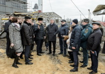 Губернатор Воронежской области выехал на место взрыва котельной