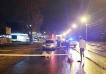 В Пскове водитель насмерть сбил пешехода и скрылся