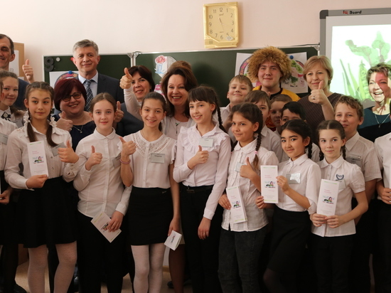 Ставропольские депутаты провели школьный урок здорового питания