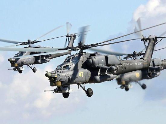 Россия испытала  в Сирии новейший Ми-28НМ