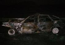 В Рязанской области легковушка загорелась после столкновения с КамАЗом, водитель погиб
