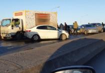 В ДТП на Ушинском мосту виновны гололед и сами водители