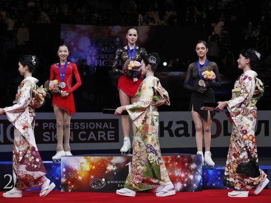 Битва богинь: Загитова стала чемпионкой мира, Медведевой досталась бронза