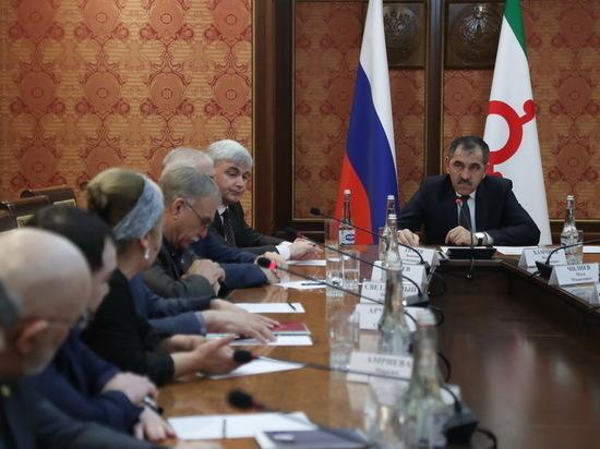 Евкуров: разделения и ликвидации Ингушетии не будет