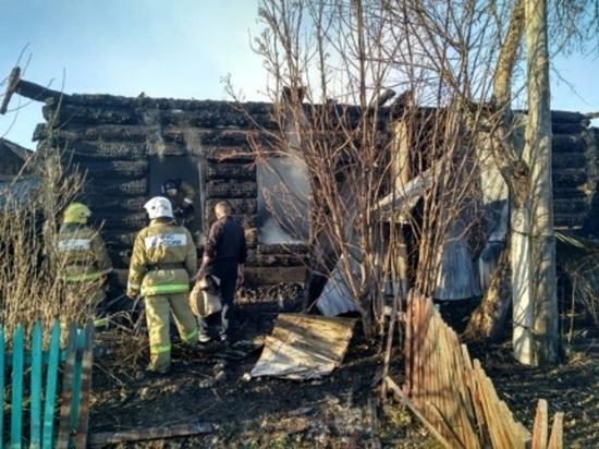 В Красноярском крае в пожаре погибли четыре человека