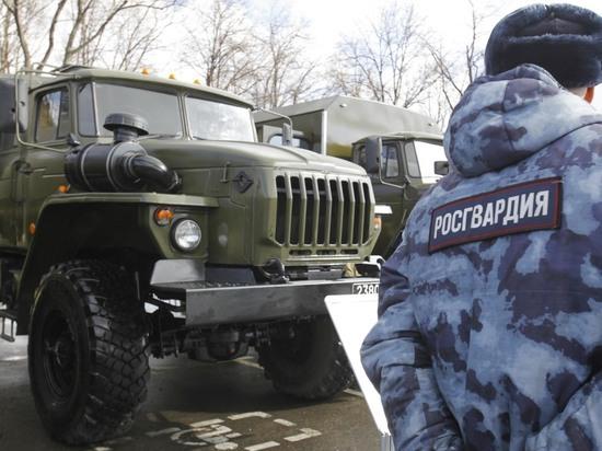 Спецназ Росгвардии устроил шоу с задержанием в Лужниках
