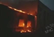 На «Усольехимпроме» произошёл десятый пожар