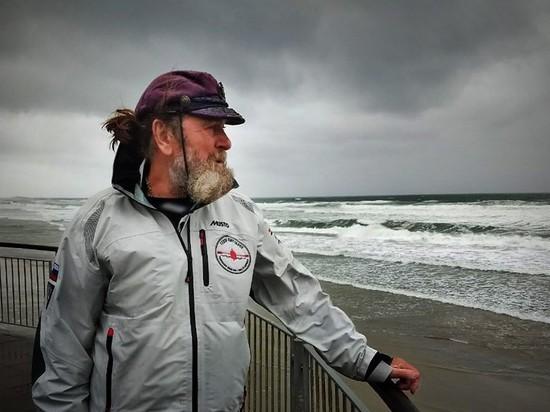 Фёдор Конюхов столкнулся с 12-бальным штормом в шестом кругосветном путешествии