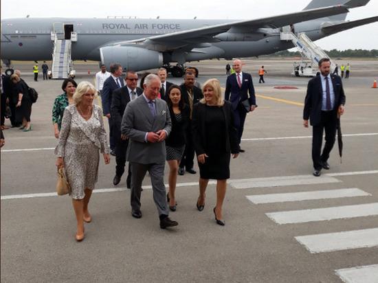 Принц Чарльз прибыл на Кубу