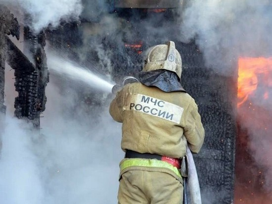 Пожар унес жизни двух человек в Чувашии