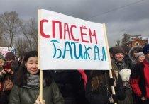 На митинге в защиту Байкала выступил мэр Иркутска Дмитрий Бердников