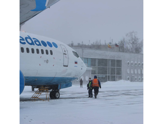 Непогода задерживает два московских рейса из Чебоксар