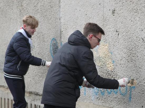Полицейские провели в Саранске акцию «Чистый город! Здоровый город!»
