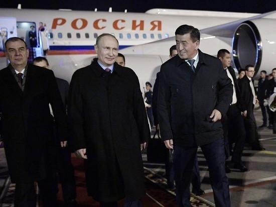 Путина пообещали встретить в Бишкеке по-особенному