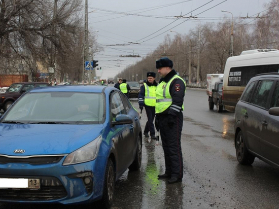 В Мордовии полицейские остановили 20 пьяных водителей да два дня