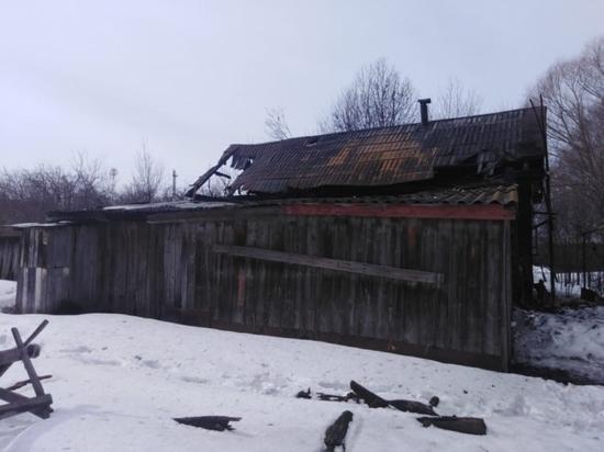 На пожаре в Мордовии погиб пенсионер
