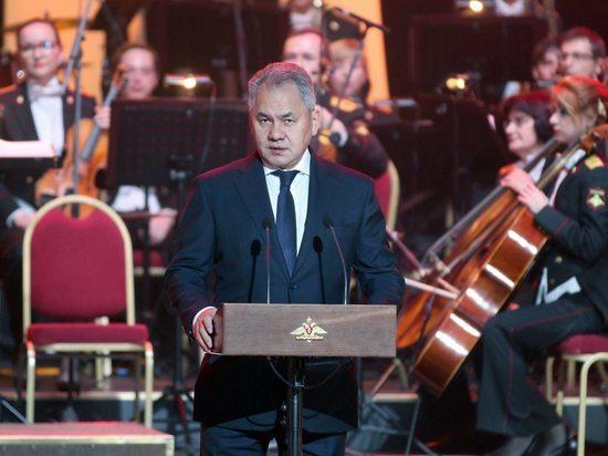 Шойгу вручил премии Минобороны деятелям культуры и  искусства