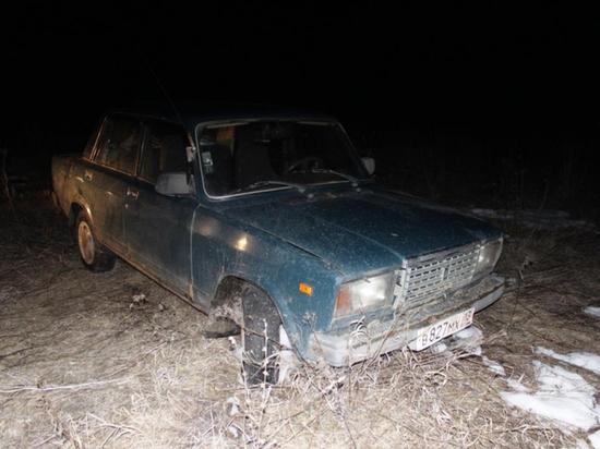 В Мордовии угонщик бросил чужую «семёрку» в поле