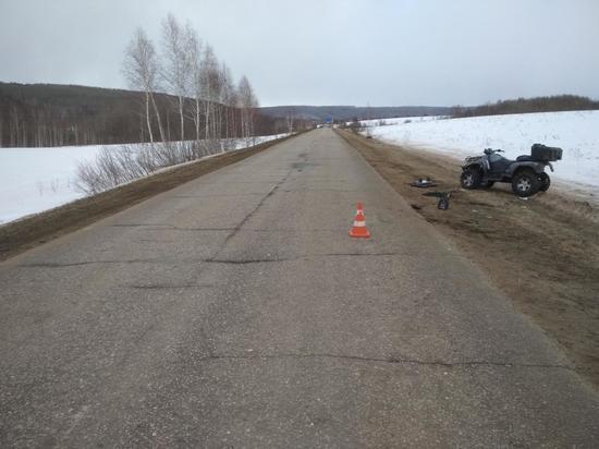 В Мордовии водитель квадроцикла попал в реанимацию