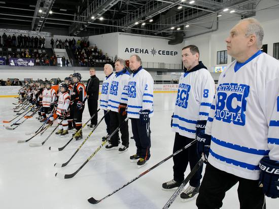 В Воронеже открылась детская хоккейная школа
