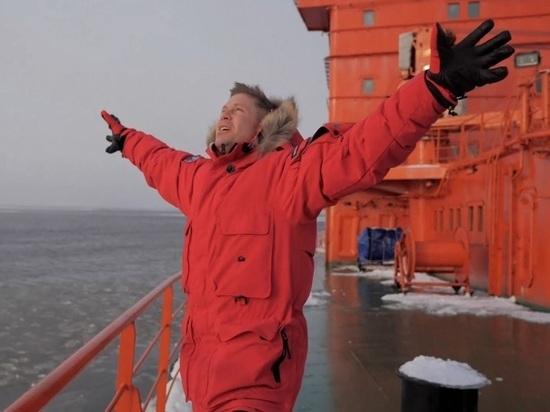 Съемки клипа Мити Фомина в Арктике: как это было. Видео