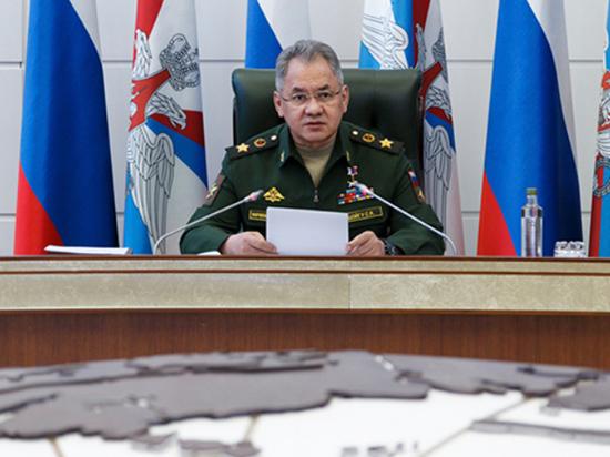 Шойгу объявил о создании новой военной структуры, которая исключит коррупцию