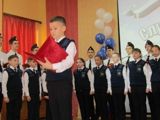 В рядах кадетов в Мордовии – прибавление