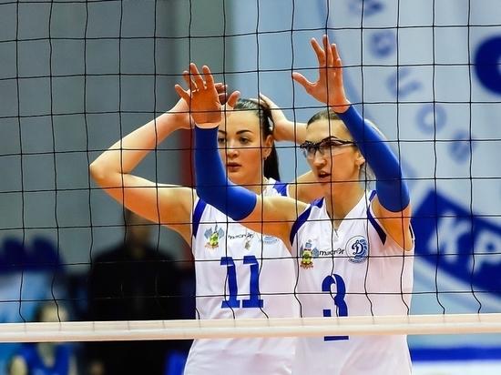 Краснодарское волейбольное «Динамо» проиграло казанскому, но вышло в четвертьфинал