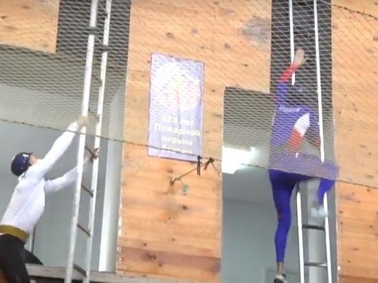 Всероссийские соревнования по пожарно-спасательному спорту прошли в Ульяновке